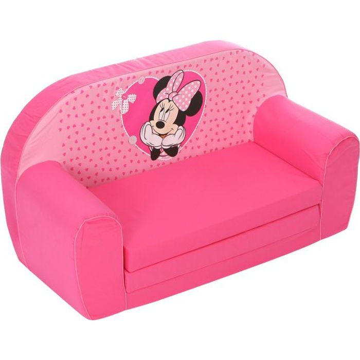 minnie canap mousse sofa disney baby rose achat