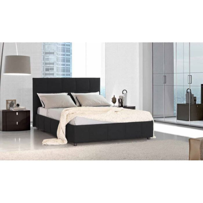 lit coffre 140x200. Black Bedroom Furniture Sets. Home Design Ideas