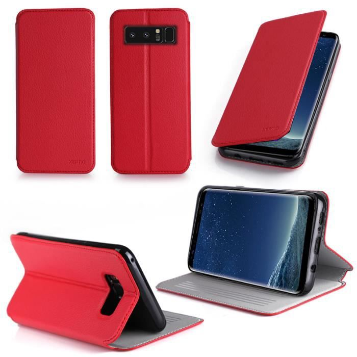 coque samsung note 8 rouge