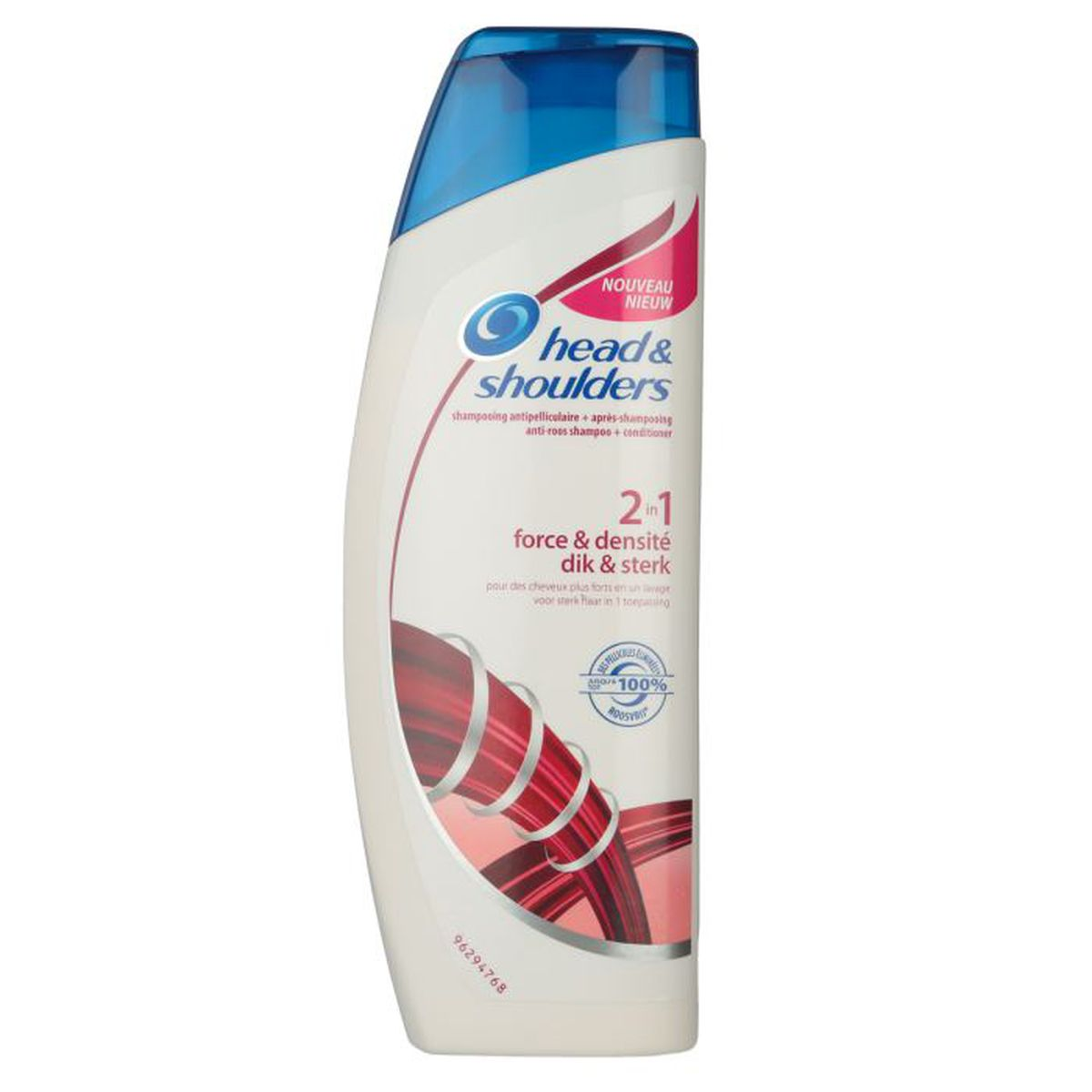 head shoulders shampoing 2en1 force et densit 270ml. Black Bedroom Furniture Sets. Home Design Ideas