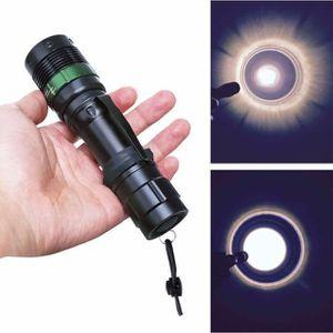 LAMPE DE POCHE 3000 Lumen Zoomable Q5 XM-L LED lampe torche Zoom