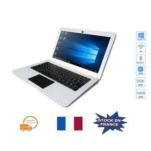Achat PC Portable Ordinateur portable DWO 10.1 pouces 1366 * 768 Intel Z8350 1.92Ghz Quad-core 2G RAM 32G ROM Bluetooth HDMI pas cher