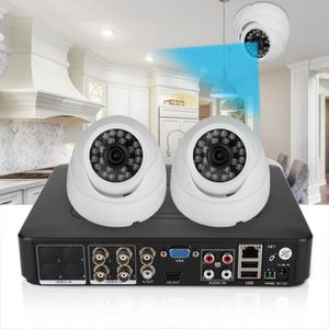 CAMÉRA DE SURVEILLANCE 1080P 2CH HD200W Pixels Kit caméra sécurité vidéo
