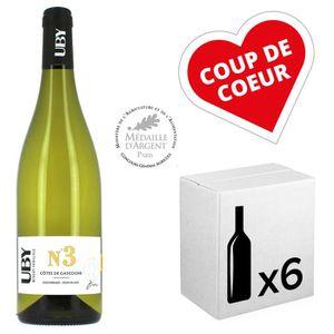 VIN BLANC Vin - Uby Colombard Ugni Blanc N°3 6 x 75cl