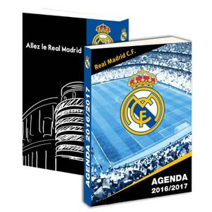 AGENDA - ORGANISEUR Agenda scolaire 2016 2017 REAL MADRID - Collection