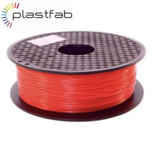 FIL POUR IMPRIMANTE 3D Plastfab - Filament PLA Rouge 1 kg 1.75 mm - Quali