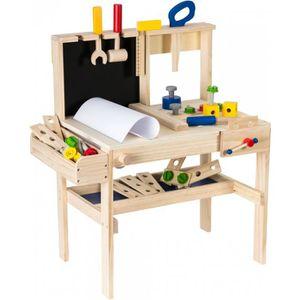 BRICOLAGE - ÉTABLI Dodo Toys Atelier de Bricolage en Bois et MDF 75 P