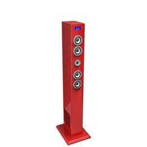 STATION D'ACCUEIL BigBen Tour Multimédia Station d'accueil USB Rouge