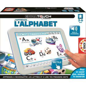 TABLETTE ENFANT EDUCA Touch Junior L'Alphabet tablette