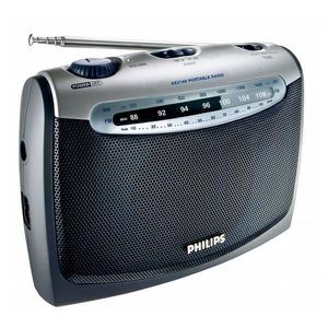 RADIO CD CASSETTE Radio Transistor fonctionnant à piles 300W - Radio
