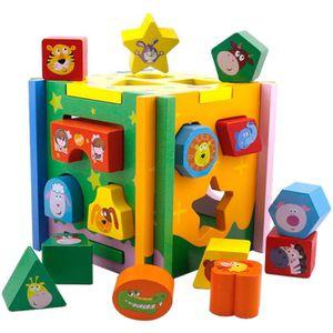 BRICOLAGE - ÉTABLI Jouets pour enfants Enfant Jouet En Bois Cube Form
