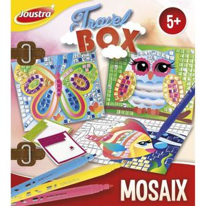 JEU DE MOSAIQUE JOUSTRA Travel Box Mosaix