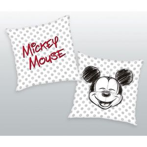 COUSSIN Coussin déco Mickey Mouse 40x40cm