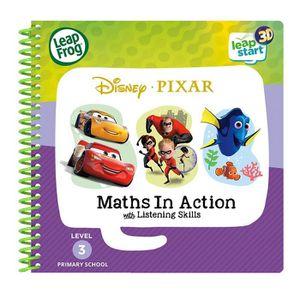 LIVRE JEUX ACTIVITÉS LeapFrog 461903 3D Livre d'activités Pixar Pals Jo