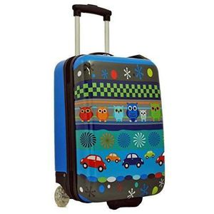VALISE - BAGAGE Valise cabine 50 cm Bleu Enfant Snowball