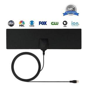 ANTENNE RATEAU Antenne HDTV interieure de plage de 35 miles Anten