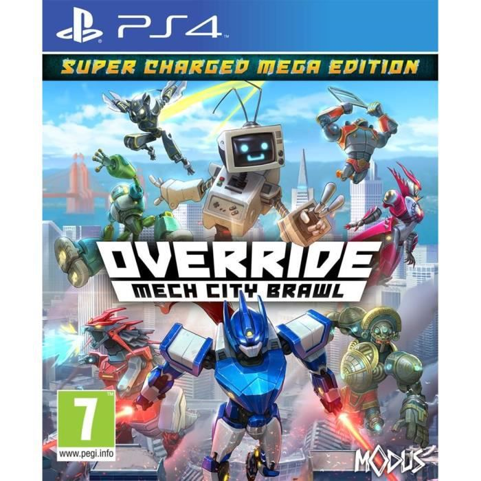 Override : Mech City Brawl - Super Charged Mega Edition Jeu PS4