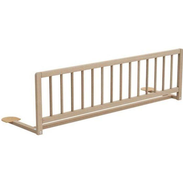 AT4 - Barrière de lit ESSENTIEL - Hêtre Brut