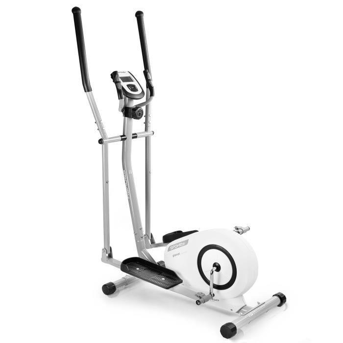 Vélo elliptique magnétique avec écran LCD - 8 niveaux de résistances - avec capteur