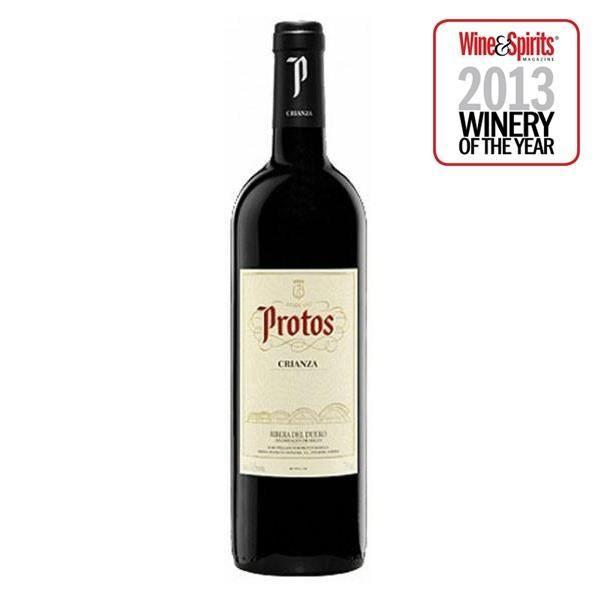 Vin Rouge. Protos Crianza - 75 Cl.