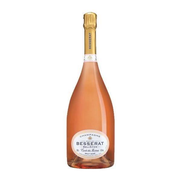 Besserat Cuvée des Moines Brut Rosé Magnum - Champagne