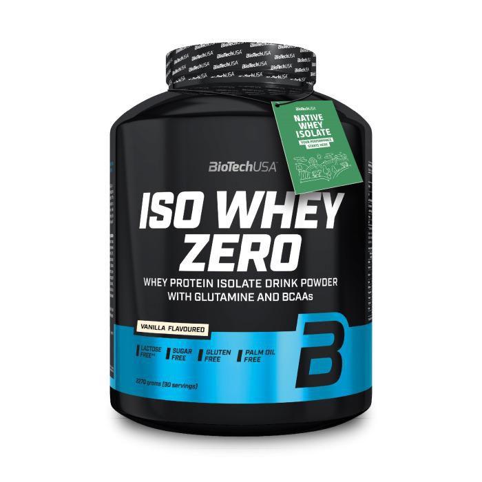 Biotech USA Iso Whey Zero Vanille 2.27 kg
