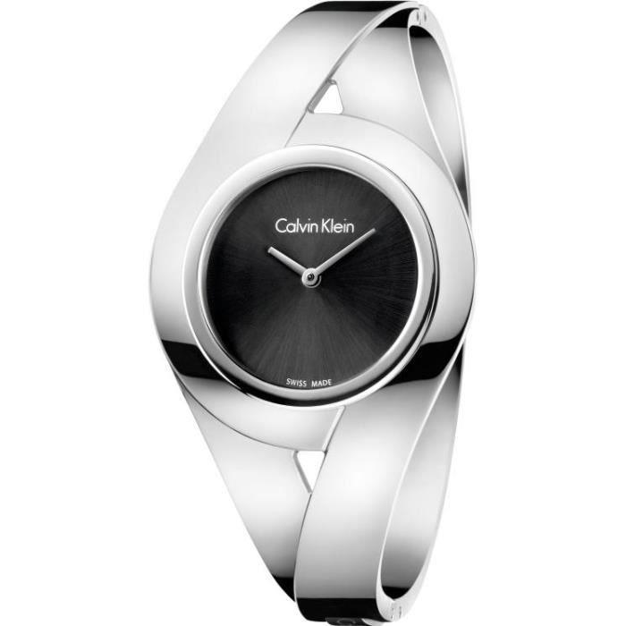 Calvin Klein SENSUAL K8E2M111 Montre Bracelet pour femmes Bracelet Manchette