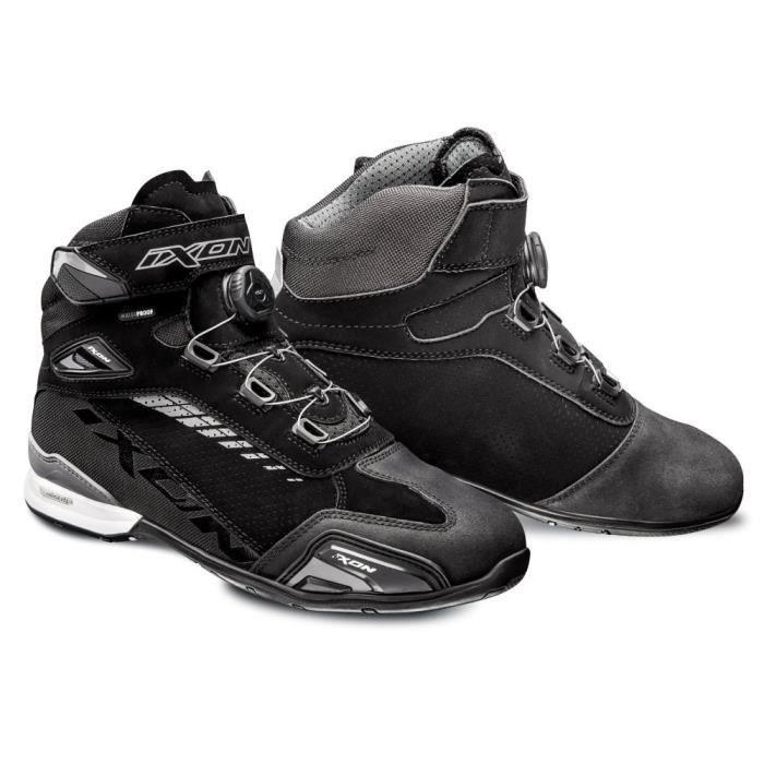 IXON Chaussures moto Bull vented - Noir et Gris