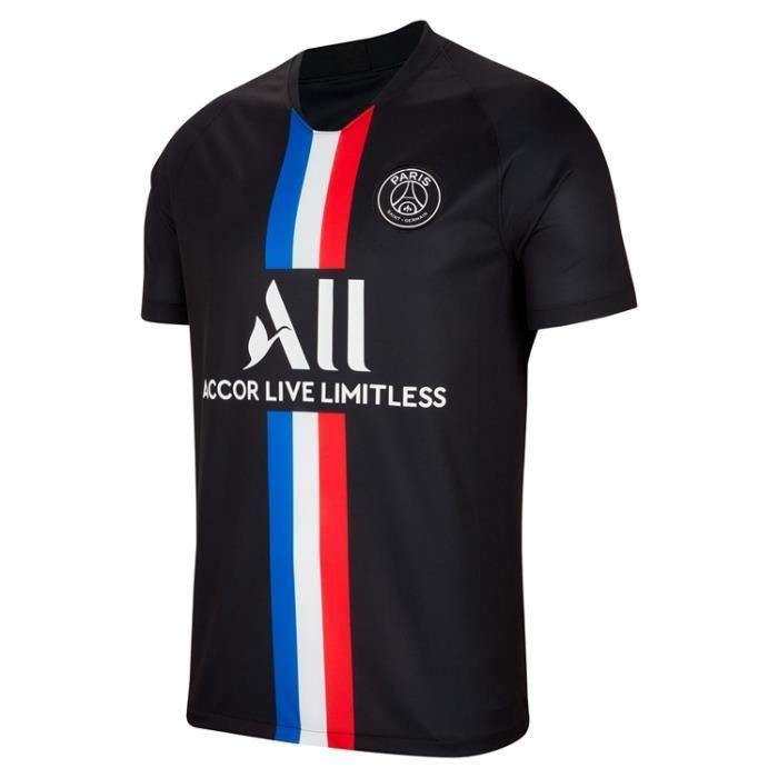 PSG Jordan Maillot de Foot Football Soccer 2019 - 2020 Pas Cher pour Homme