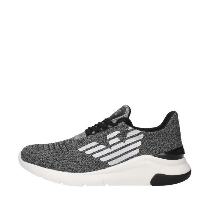 Ea7 X8X059 chaussures de tennis faible homme NOIR