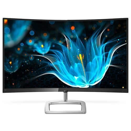 Philips E Line Moniteur Lcd incurvé avec Ultra Wide Color 328E9fjab 00, 81,3 cm (32