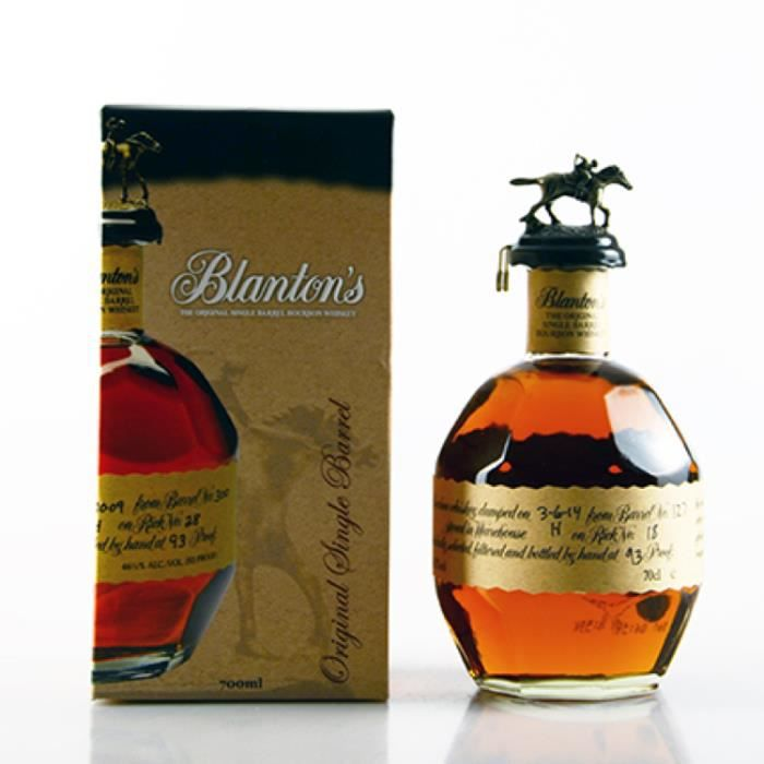 WHISKY BOURBON SCOTCH Bourbon Blanton's Original