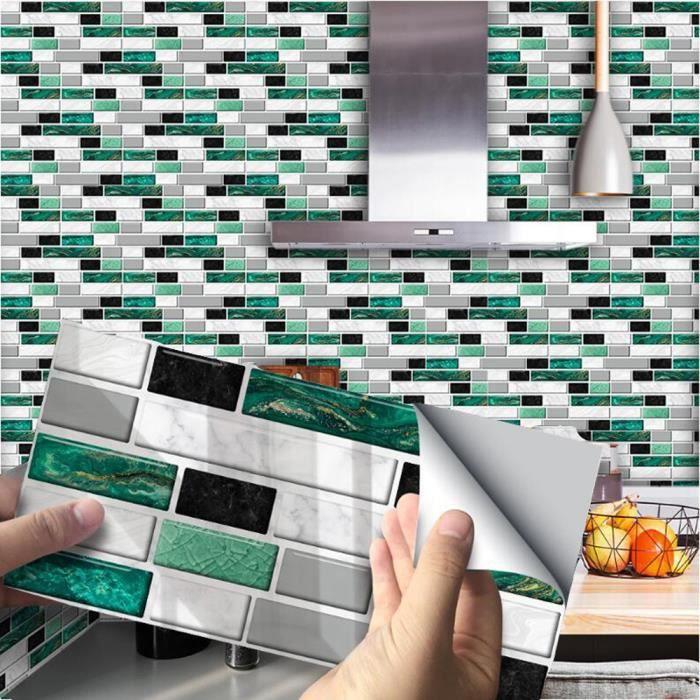 Sticker Murale Adhesive Salle De Bain Et Cuisine Achat Vente Pas Cher