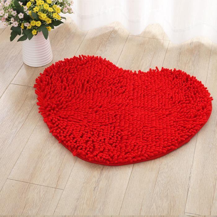 TAPIS   50*60cm Tapis cœur tapis Salon chambre tapis enf