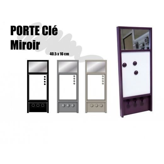 porte cles miroir violet violet achat vente porte. Black Bedroom Furniture Sets. Home Design Ideas