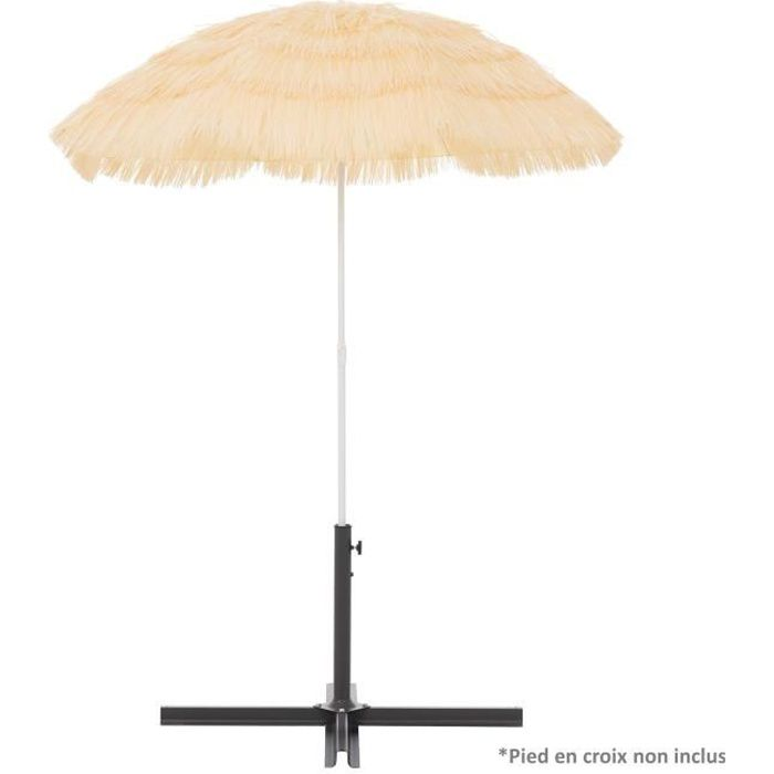 parasol paille achat vente parasol paille pas cher. Black Bedroom Furniture Sets. Home Design Ideas