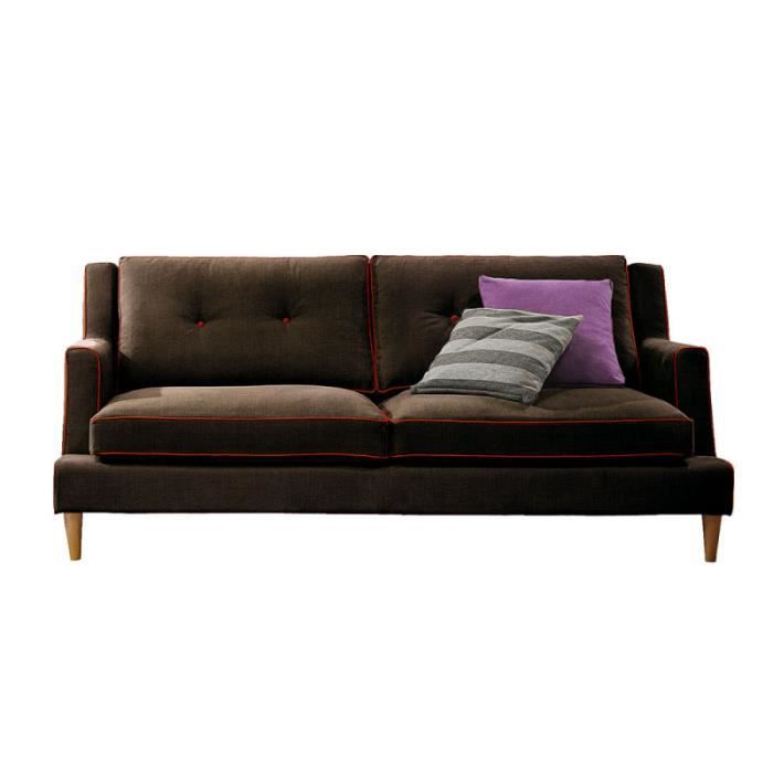 volda canap 180 cm 2 5 places achat vente canap sofa divan cdiscount. Black Bedroom Furniture Sets. Home Design Ideas