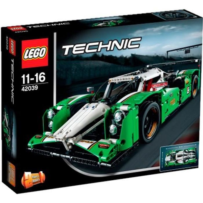 lego technic 42039 la voiture de course des 24h achat vente assemblage construction les. Black Bedroom Furniture Sets. Home Design Ideas