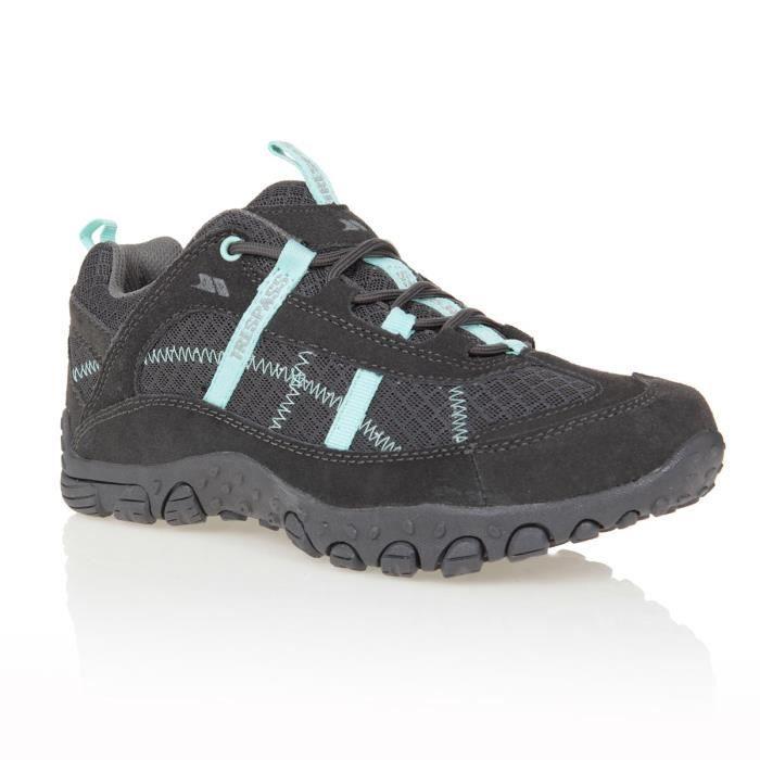 TRESPASS Chaussures de randonnée Fell - Femme - Iron
