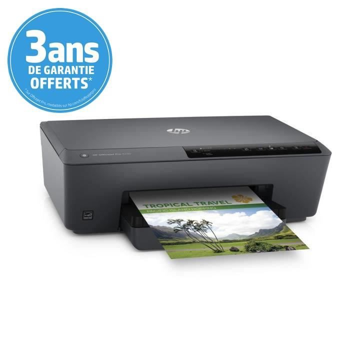 imprimante hp officejet pro 6230 jet d 39 encre prix pas. Black Bedroom Furniture Sets. Home Design Ideas