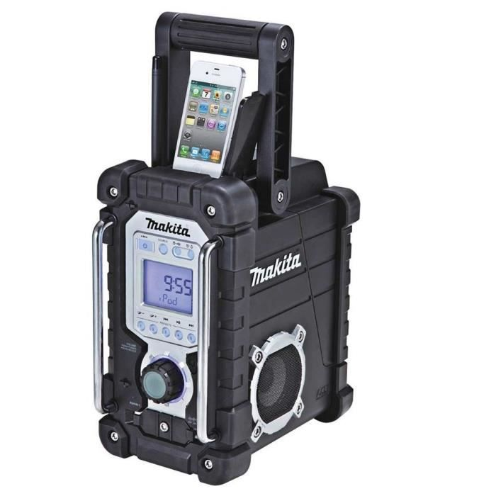 makita radio de chantier pour iphone ipod achat vente. Black Bedroom Furniture Sets. Home Design Ideas