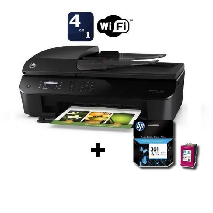 hp officejet 4632 pack 3 couleurs n 301 achat vente imprimante hp officejet 4632 pack 3. Black Bedroom Furniture Sets. Home Design Ideas