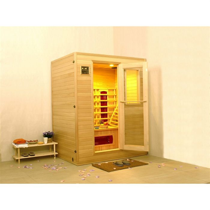 kokido sauna infrarouge 2 places larges oslo achat vente kit. Black Bedroom Furniture Sets. Home Design Ideas
