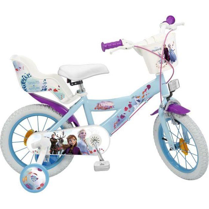 """VÉLO ENFANT Vélo Enfant 14"""" La Reine des Neiges 2  Enfant 4/7"""