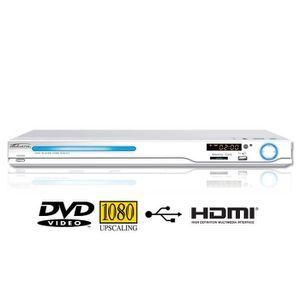 LECTEUR DVD PORTABLE TAKARA KDV103W Lecteur DVD USB SD HDMI Blanc