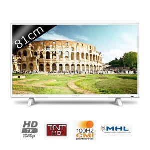 Téléviseur LED THOMSON TV 32FA3103W - Full HD 1080p - 81cm (32 po