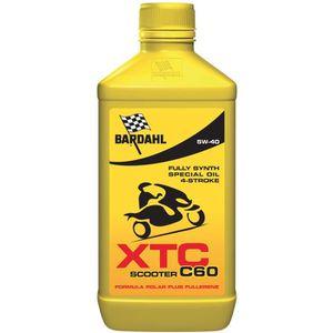 HUILE MOTEUR BARDAHL Huile moteur pour moto 4 Tps XTC C60 Scoot