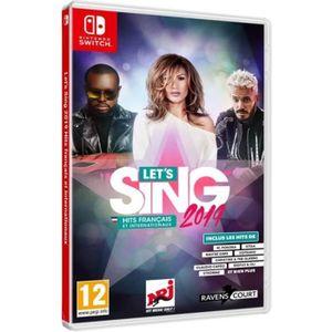 JEU NINTENDO SWITCH Let's Sing 2019 Hits français et internationaux Je