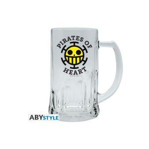Verre à bière - Cidre ABYstyle - One Piece - Chope Trafalgar