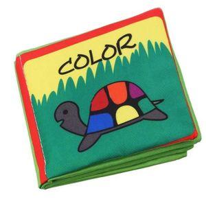 LIVRE INTERACTIF ENFANT bébé Intelligence Development Livre de couleur - L